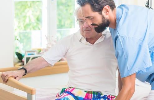 Unterstützung für pflegende Angehörige