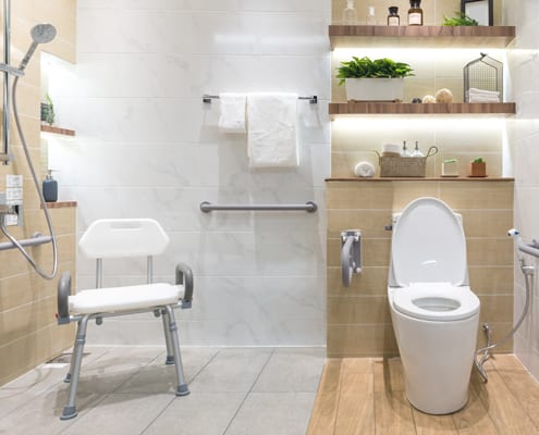barrierefreies badezimmer