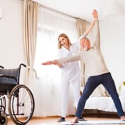 Physiotherapie gegen Spastiken bei MS-Patienten