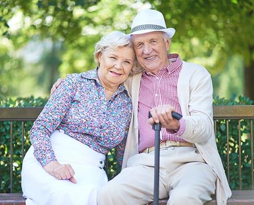 Pflegebedürftige genießen das Leben dank Betreuungsgeld