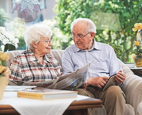 Senioren diskutieren über MDK-Prüfung