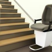 Plan für Treppenlift zur Miete
